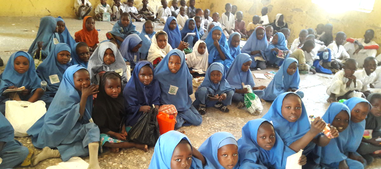 Overcrowded Classroom at Maiduguri