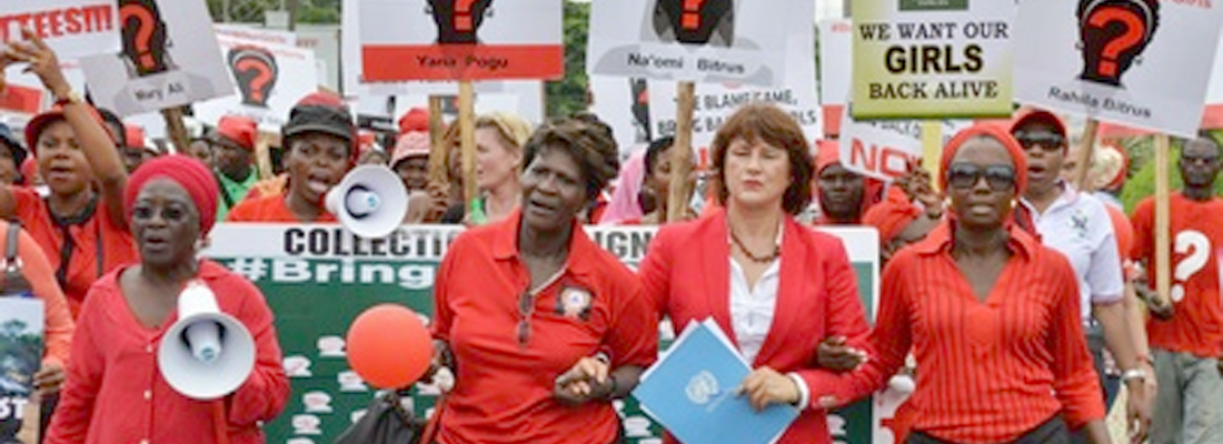 Calling for Release of Chibok Girls
